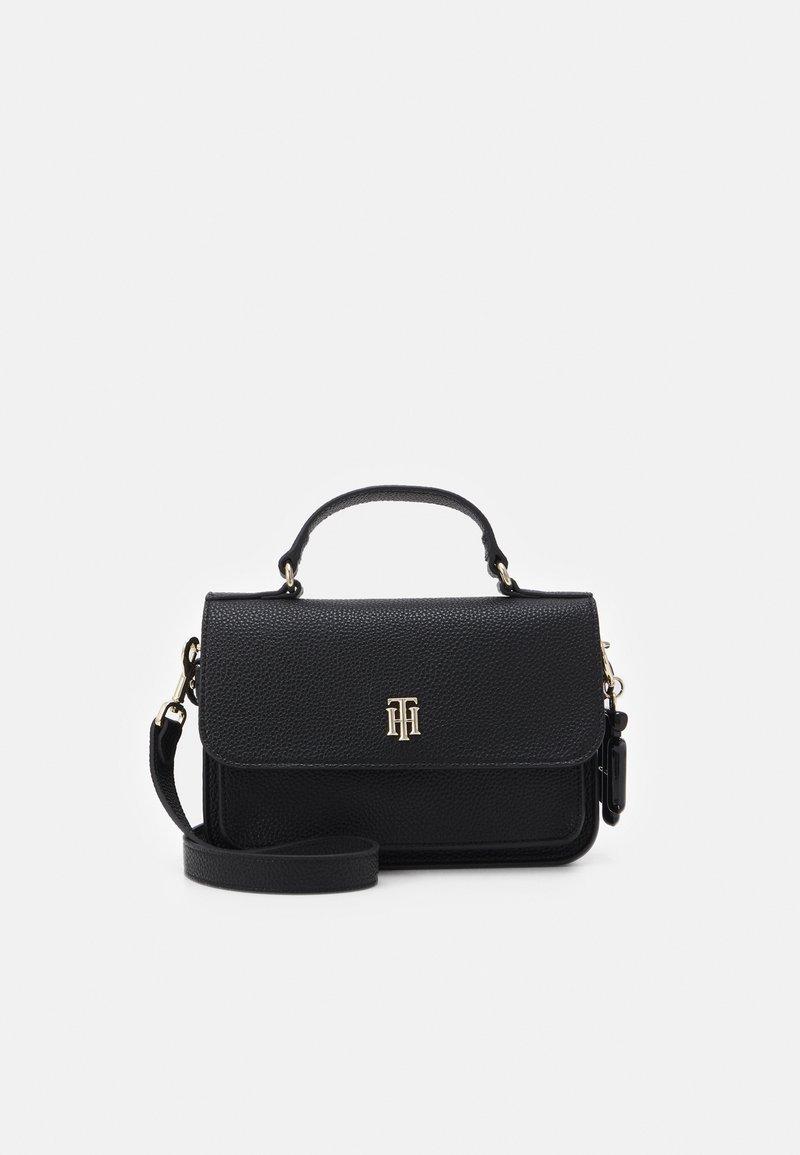 Tommy Hilfiger - SOFT CROSSOVER - Handbag - black