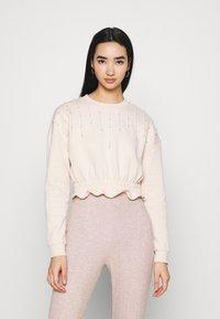 Miss Selfridge - PEARL - Sweatshirt - lilac - 0
