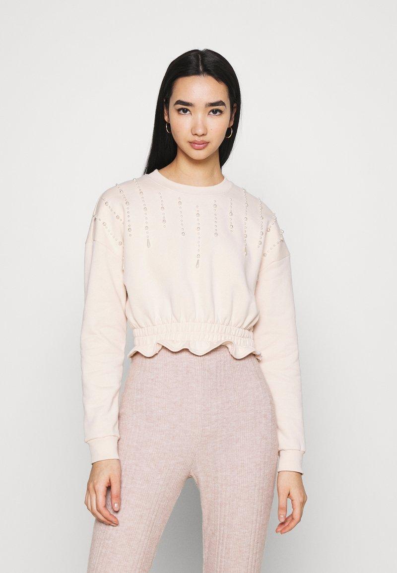 Miss Selfridge - PEARL - Sweatshirt - lilac