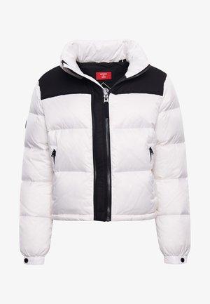 CODE - Down jacket - optic