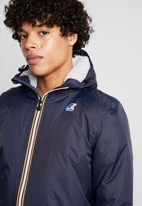 K-Way - UNISEX LE VRAI EIFFEL ORSETTO - Winter coat - blue depth - 3