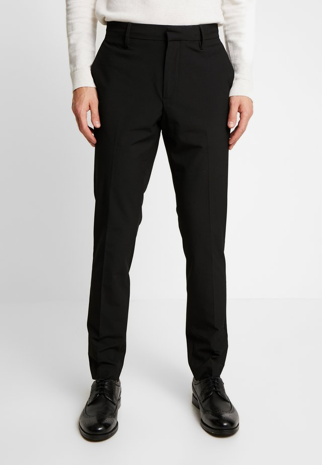 SMART 360 FLEX TROUSER SLIM - Pantalones chinos - black