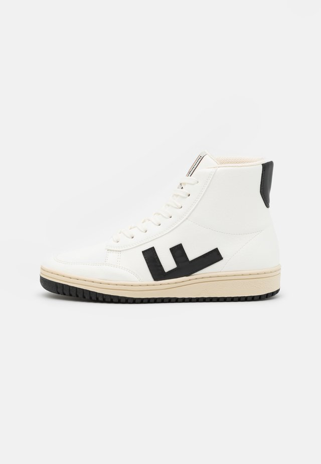 OLD 80'S UNISEX - Sneaker high - white/black