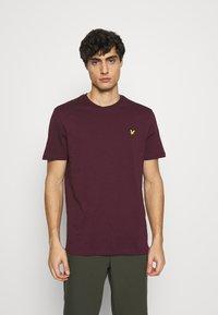 Lyle & Scott - T-shirt - bas - burgundy - 0
