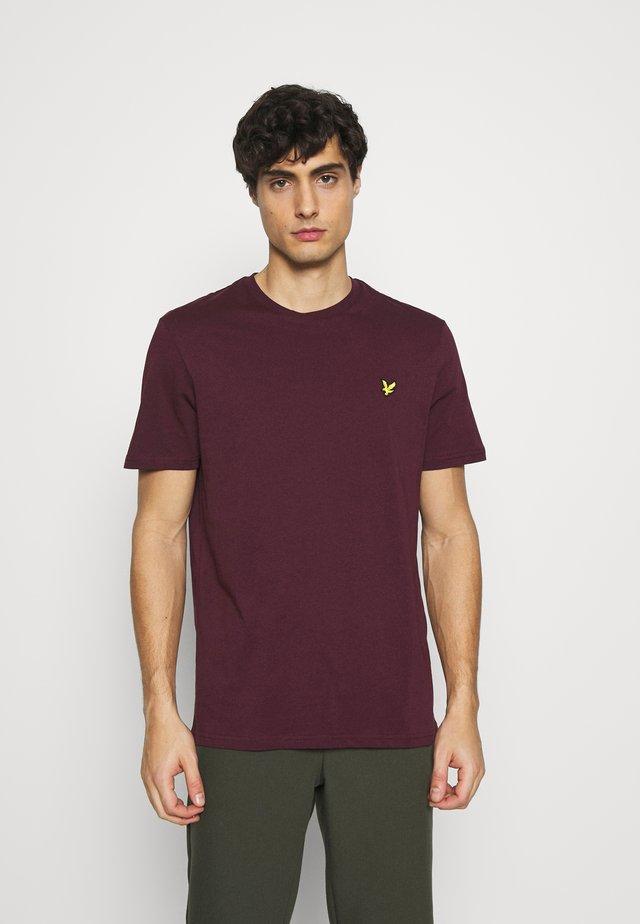 T-shirt basique - burgundy