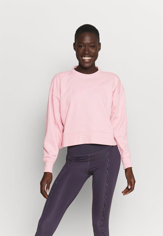DRY GET FIT CREW - Sweater - pink glaze/light smoke grey