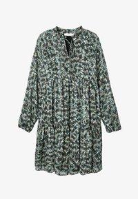 Promod - Robe d'été - imprimé noir - 4