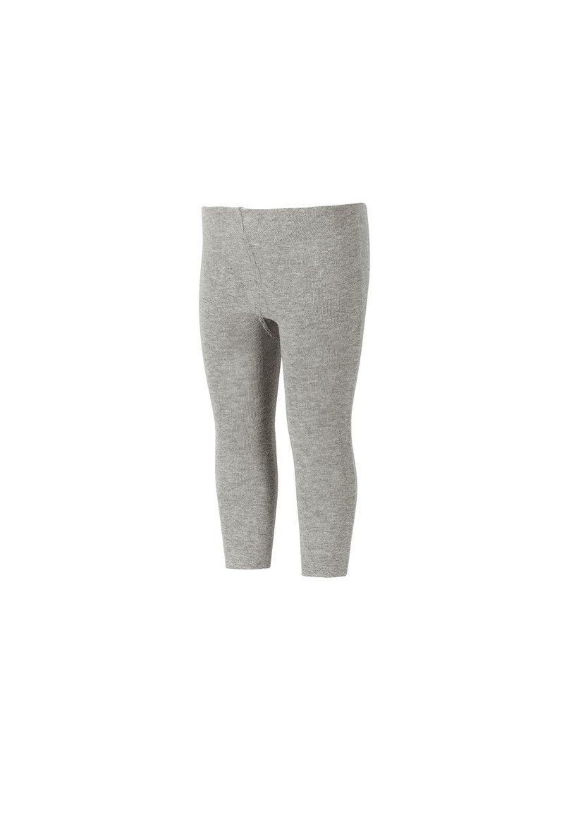 Sterntaler - LEGGINS LEGGINS UNI - Leggings - Trousers - silber melange
