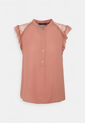 VMMAPLE FRILL - Blouse - old rose