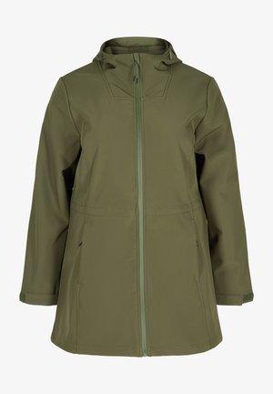 Waterproof jacket - forest night