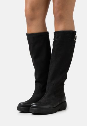EXTRA - Platform boots - pacific black