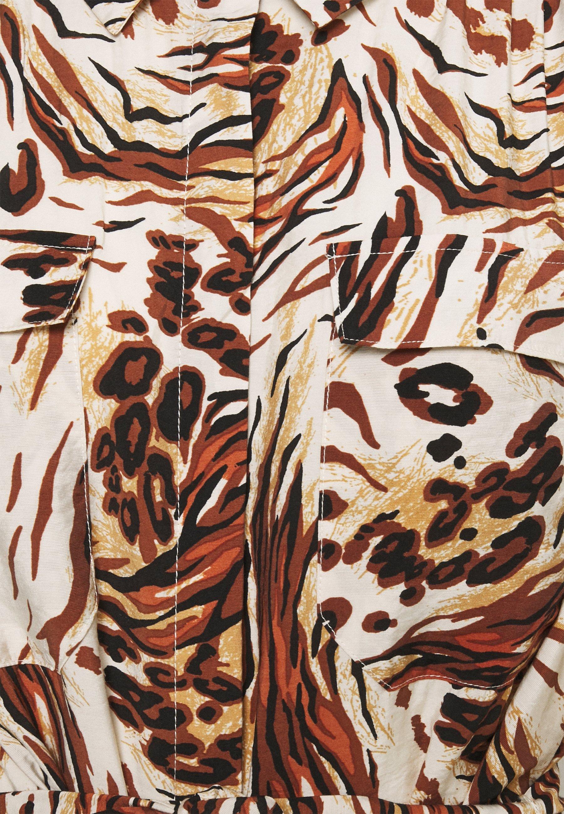 Object OBJEMERSON DRESS  Blusenkleid sandshell/vild/beige