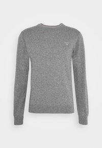CREW - Pullover - dark grey melange
