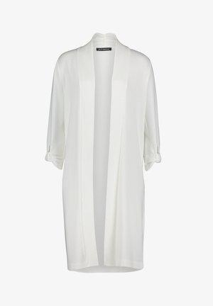 Classic coat - blanc