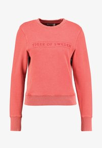 Tiger of Sweden Jeans - OBSESSA - Sweatshirt - red - 3