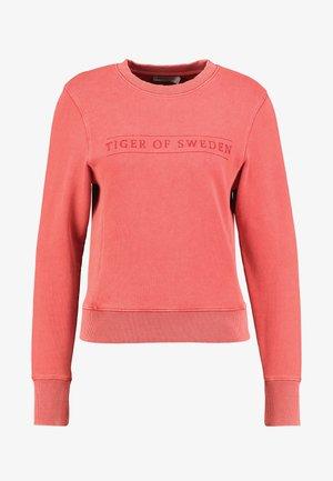 OBSESSA - Sweatshirt - red