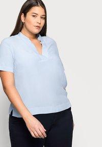 Selected Femme Curve - SLFALLA CURVE - Bluser - cashmere blue - 3