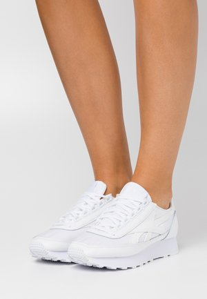 AZ PRINCESS - Sneakers basse - white/light solid grey/excellent red