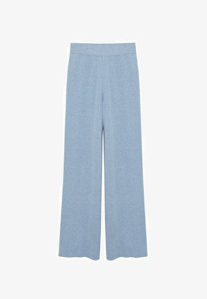 Trousers - bleu