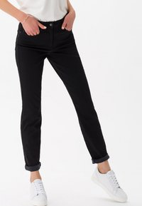 BRAX - STYLE SHAKIRA - Slim fit jeans - clean black - 0