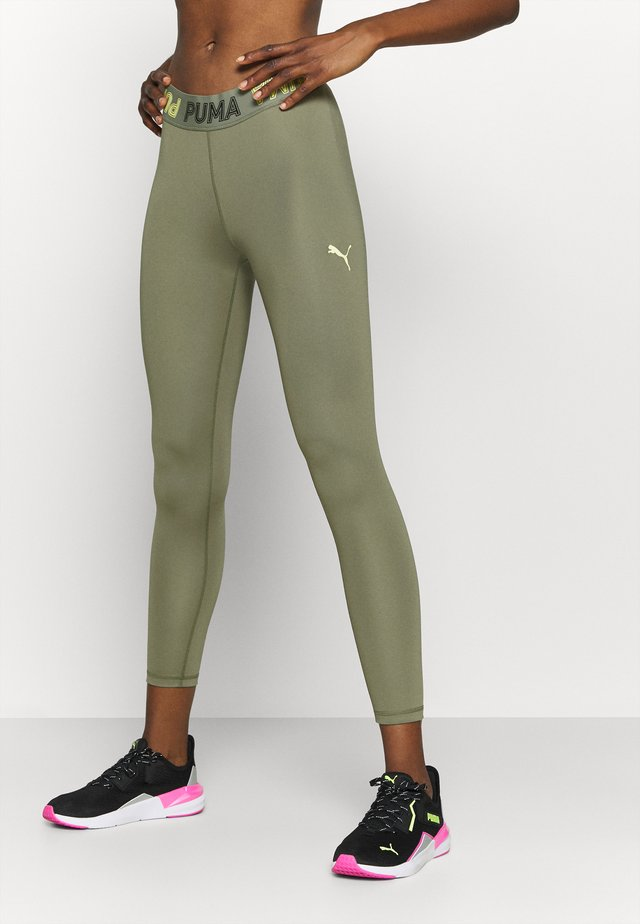 MODERN SPORTS BANDED - Leggings - deep lichen green