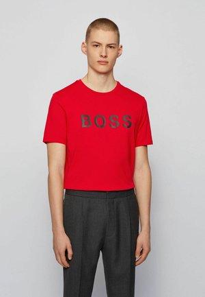 TIBURT - Print T-shirt - red