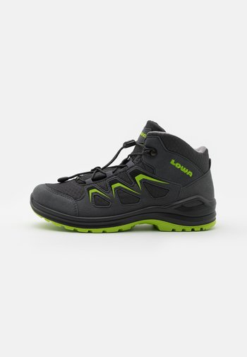 INNOX EVO GTX QC JUNIOR UNISEX - Hiking shoes - anthrazit/limone