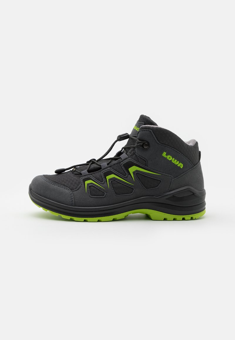 Lowa - INNOX EVO GTX QC JUNIOR UNISEX - Hiking shoes - anthrazit/limone