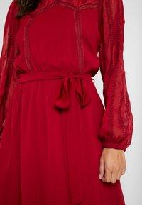 NAF NAF - LATROUSSO - Day dress - rouge dorient - 6