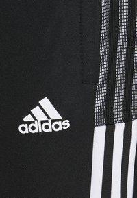 adidas Performance - TIRO  - Pantalones deportivos - black - 6