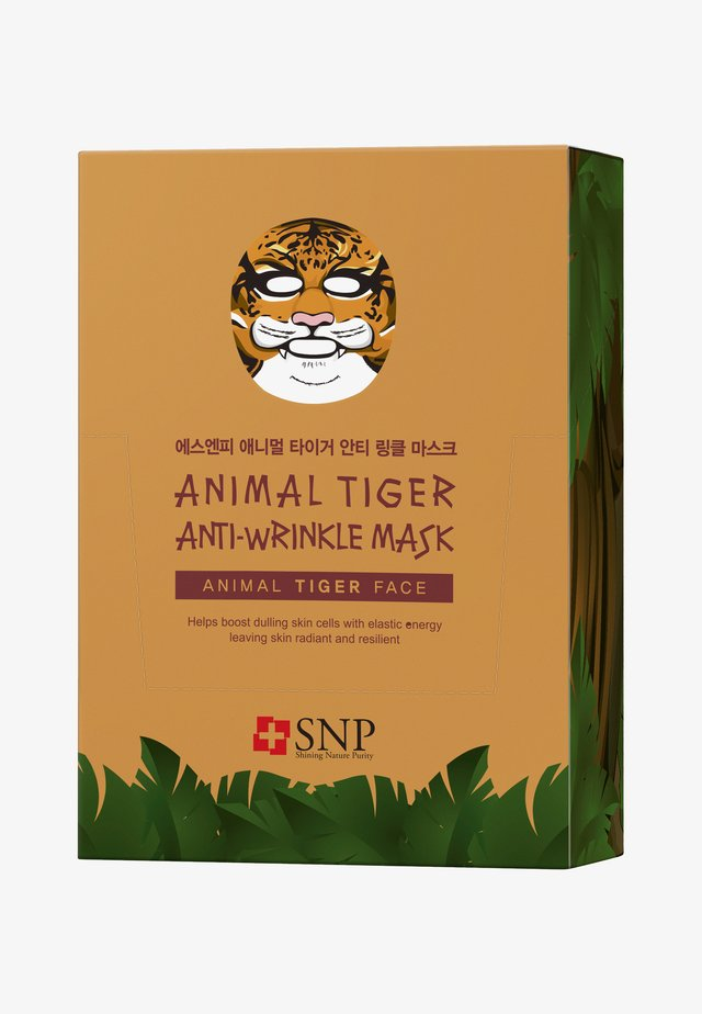 SNP ANIMAL TIGER ANTI-WRINKLE MASK 20 PACK - Face mask - -