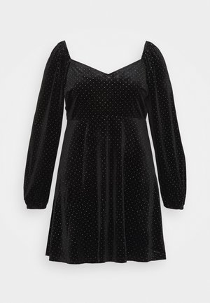 SWEATHEART BECK SKATER DRESS - Kjole - black