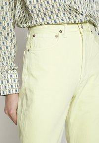 Agolde - 90'S - Straight leg jeans - limoncello - 3