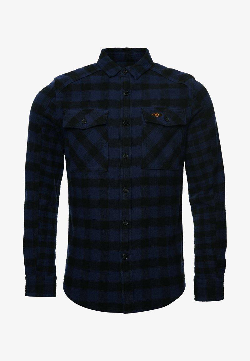 Superdry - Shirt - blue check