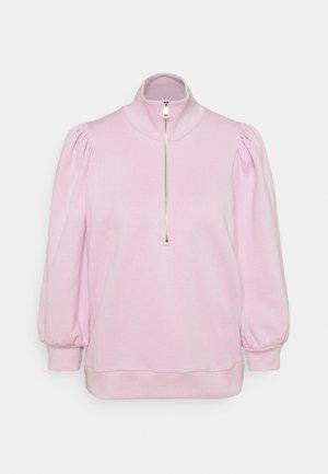 NANKITAGZ ZIPPER  - Sweatshirt - fragrant lilac