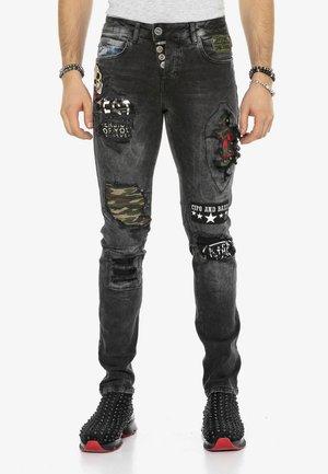 ROCKSTAR - Slim fit jeans - black