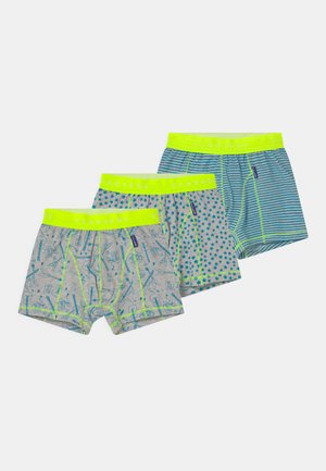 BOYS 3 PACK - Pants - turquoise