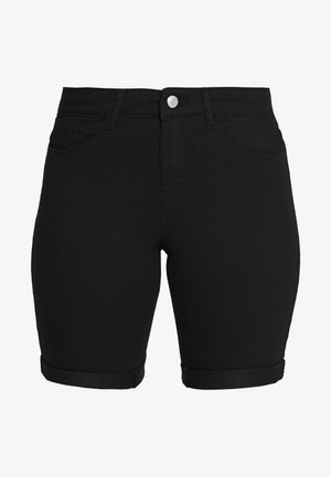 ONLSUN ANNE - Jeansshorts - black