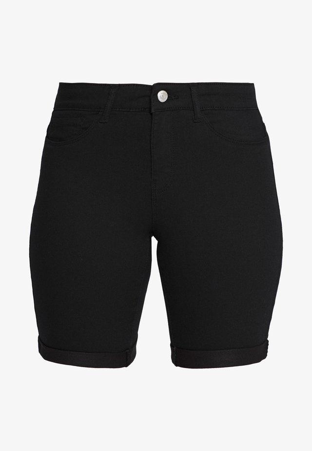 ONLSUN ANNE - Shorts vaqueros - black