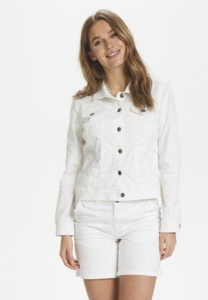 U4103, ALISONSZ DENIM JACKET - Denim jacket - bright white