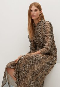 Mango - BOA - Day dress - braun - 5