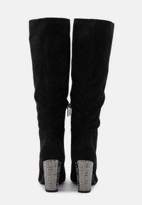 Guess - LABONI - Boots med høye hæler - black - 3