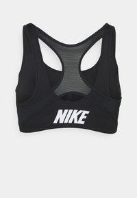Nike Performance - SHAPE ZIP FRONT BRA - High support sports bra - black - 1