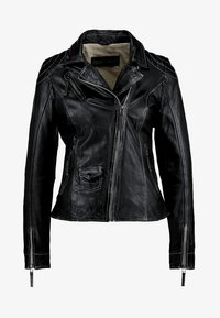 Freaky Nation - BLIND TRUST - Leather jacket - black - 5