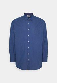 Jack´s Sportswear - FIL A FIL SHIRT BOX COMFORT FIT - Shirt - dark blue - 0