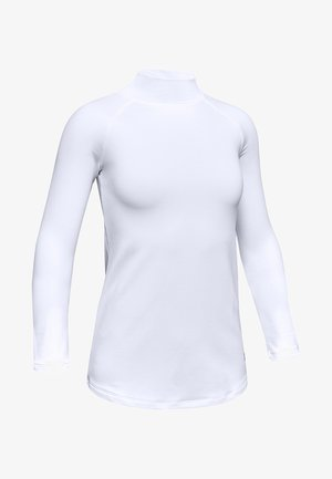 COLDGEAR - Long sleeved top - white