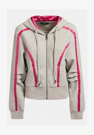 Zip-up hoodie - grijs multi