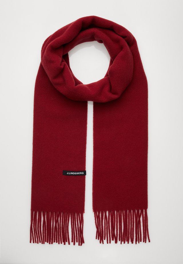 CHAMP SOLID SCARF - Sjal - chilli red