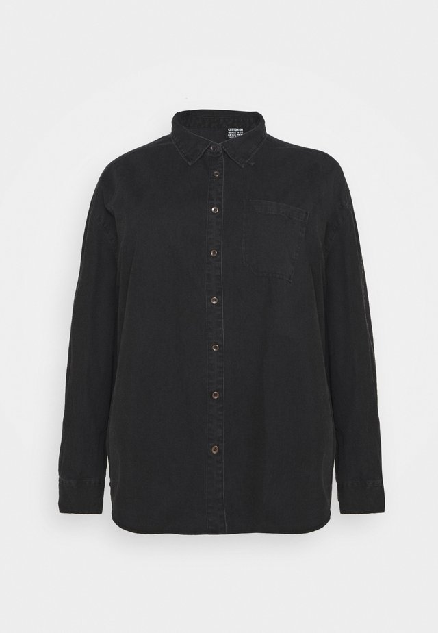 CURVE LONGLINE  - Overhemdblouse - washed black