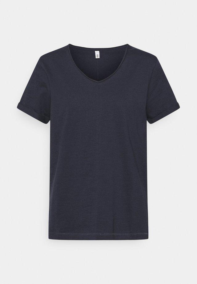 BABETTE  - Basic T-shirt - navy